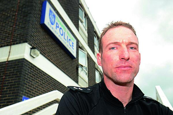 Insp Gavin Biggs  Picture: OX69264 Marc West