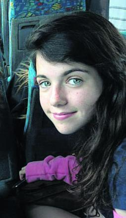 Liberty Baker, 14, who was killed in t