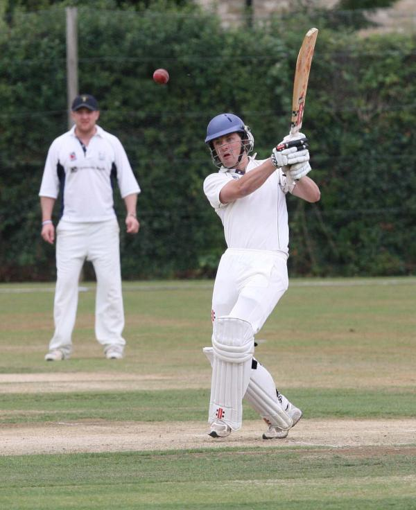 Tiddington's Nick Pykett was out for 97