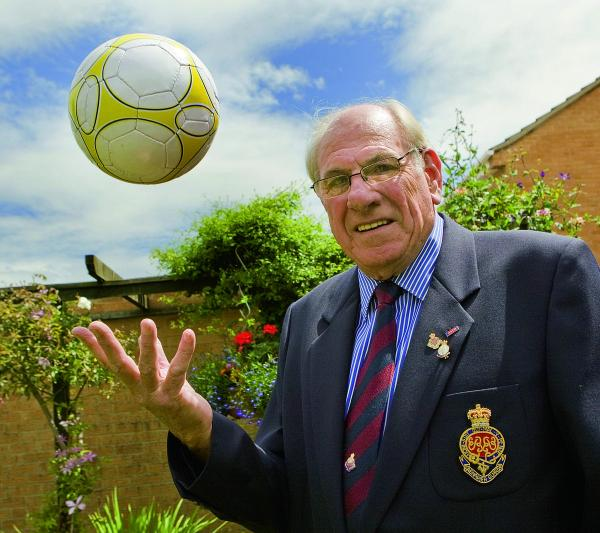 Peter Brooks, chairman of the Oxfordshire branch of the Grenadier Guards Association has organised a charity football match