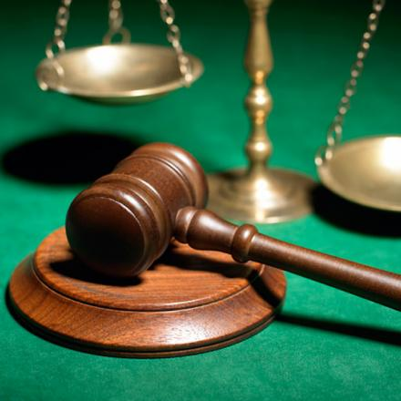 The Scales of Justice – 17 people up in court