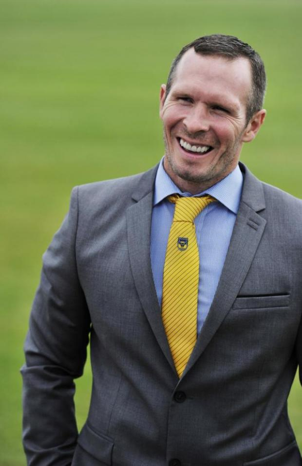 The Oxford Times: Michael Appleton is happy to be starting his new job as head coach at Oxford United's training ground at Roman Way yesterday
