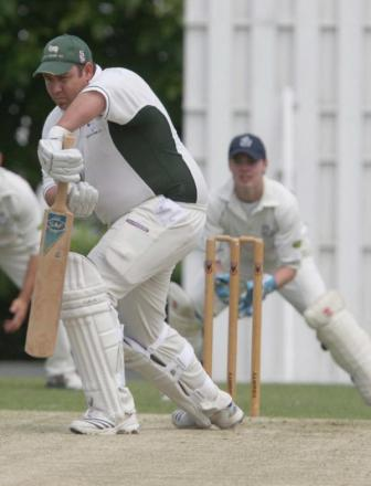 Wes Bartlett top-scored for Oxford Downs with 81 to lift them off the bottom of the table