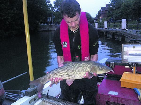 Nine-pound fish caught at river in Abingdon