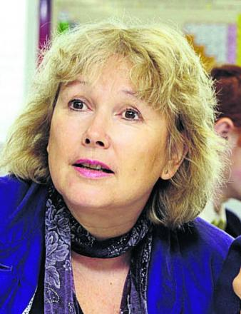 Oxford Spires Academy headteacher Sue Croft