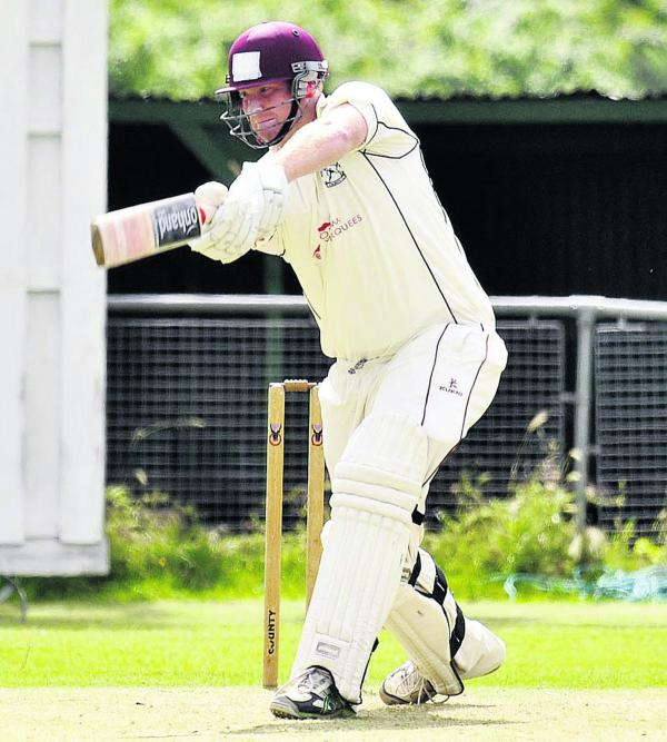 Pat Foster starred for Horspath in their win against Finchampstead