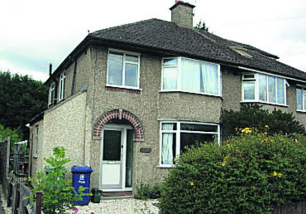 Joyce Smith's former house in Home Close