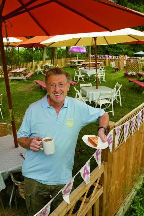 Rectory Farm has been allowed to keep its cafe, to the delight of owner Richard Stanley