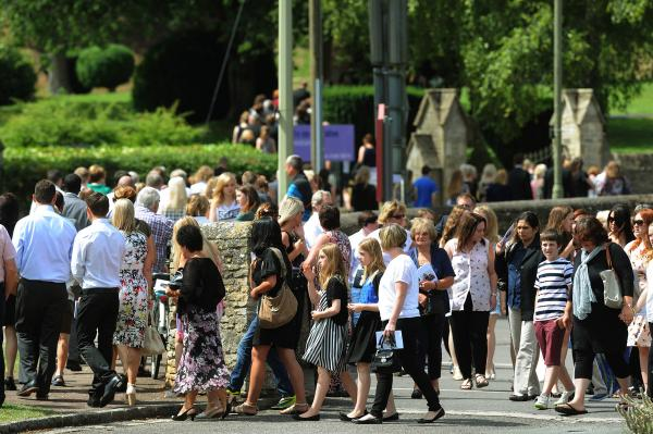'Liberty was loved' - Mourners say farewell to schoolgirl killed in Witney crash