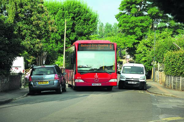 Yellow lines to free up village bus route