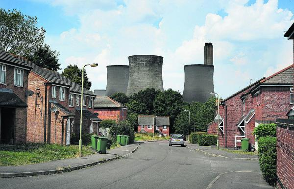 Mendip Heights, Didcot, before the demolition