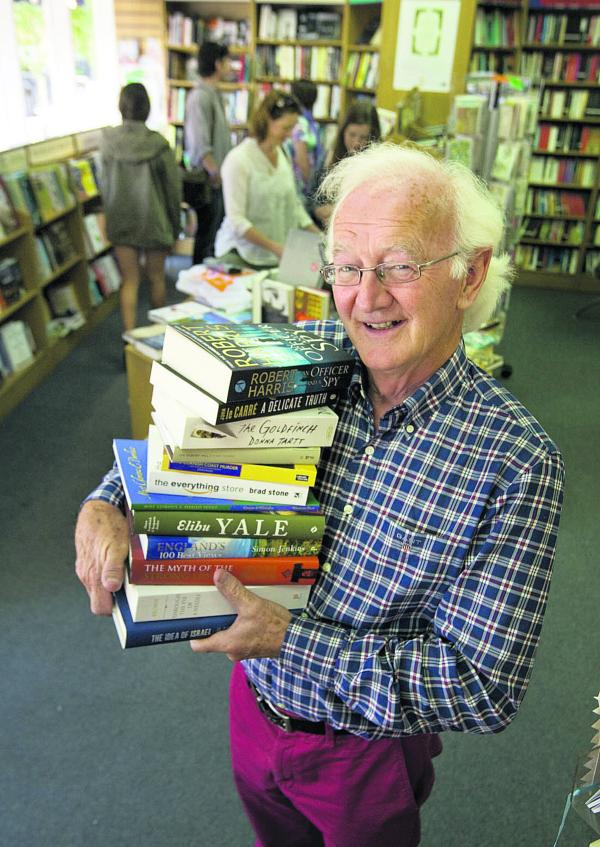 Brian Pattinson at the Book House in Summertown
