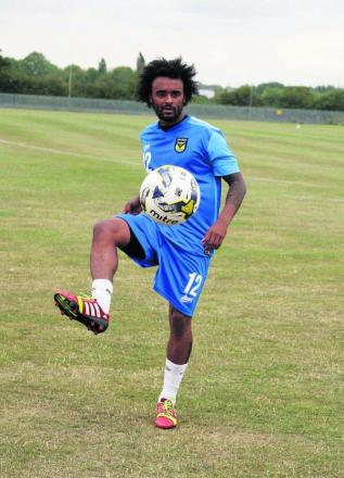 Oxford United's new signing Junior Brown says he is looking to create excitement for the fans