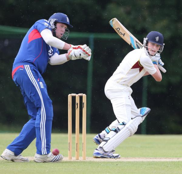 Callum Russell top-scored with 47 for Cumnor against Twyford