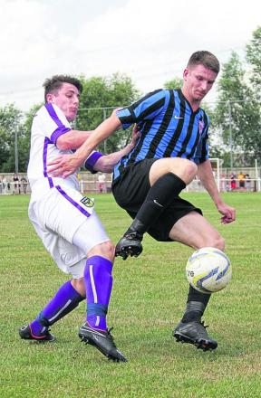 Didcot Town defender Adam Learoyd (right) has been recruited from Oxford City