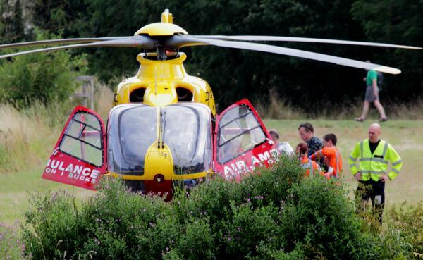 Woman rushed to hospital after collapsing in Witney (Pic: Andy Fitzpatrick)