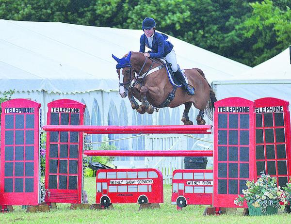 Horses and their riders jump to it for a charity extravaganza