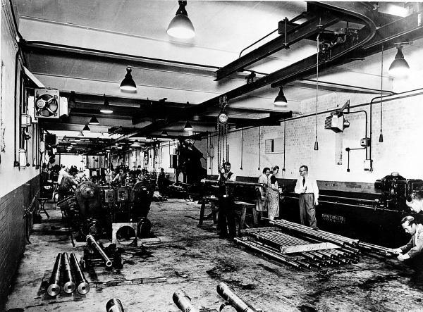 Teamwork: The factory at Tubney Wood