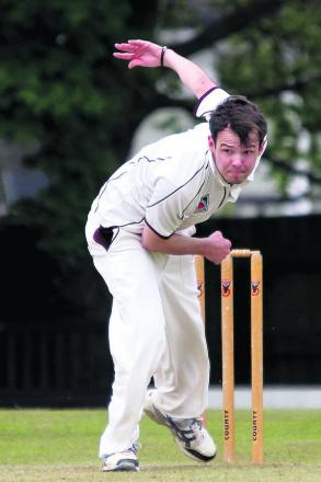 Olly Wright was among the wickets for Banbury 2nd