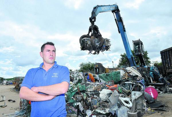 Scrap metal merchant Joey Smith, of Smiths of Bloxham, who has had his conviction overturned on appeal. Picture: OX69282 Simon Williams