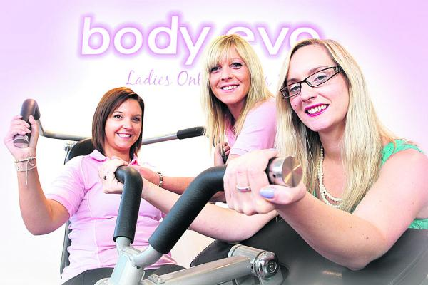 SUPPLYING DEMAND: From left, Nicole Smith and Sharon Buckingham, of Body Evo, with Stephanie Henwood, of Witney Business and Innovation Centre