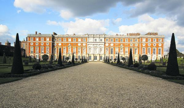 Regal splendour: Hampton Court Palace