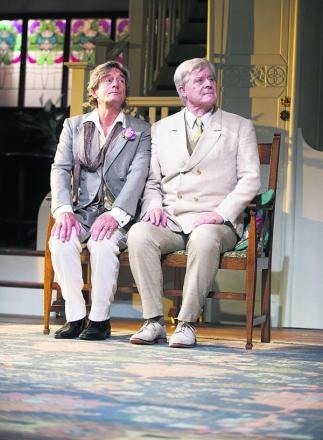 Polished: Nigel Havers (Algernon) and Martin Jarvis (Jack)