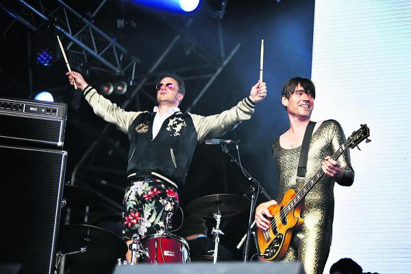 Music and food fans tuck in at Big Feastival + picture gallery