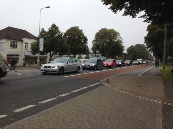 Traffic: Delays in Botley Road, Oxford, this morning