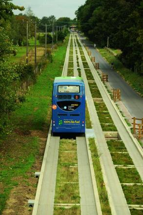 The Guided Busway in Cambridge.