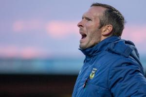 Oxford United boss Michael Appleton is weighing up his striking options