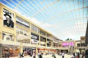 The latest artist's impression of the planned new Westgate shopping centre