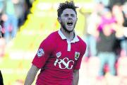 Wes Burns joined from Bristol City  Picture: Bristol Post