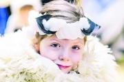 Year Two pupil Sophie Hutton played a sheep in the nativity play at Rye St Antony School