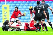 Piri Weepu is back in the London Welsh starting line-up to face Saracens today