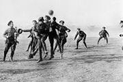 On Christmas Day hostilities often slowed down, or even ceased in some sectors of the war, and this allowed some soldiers to enjoy a game of football