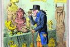 Observation: James Gillray's A Cognocenti contemplating ye Beauties of ye Antique, 1801