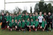 Oxford RFC's under 14s beat Wallingford in the County Cup final at Henley    Picture: Emma Barwell
