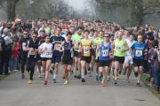 Runners set off for last year's race