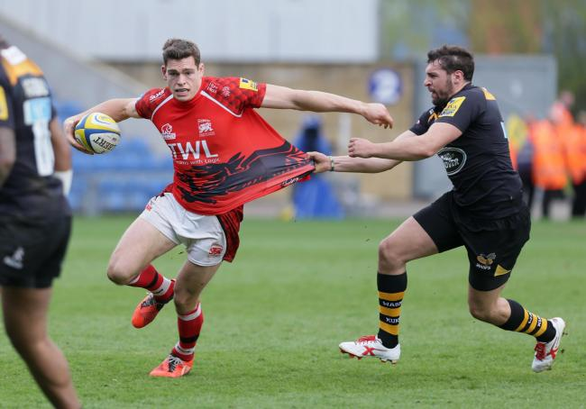 London Welsh winger Chris Elder