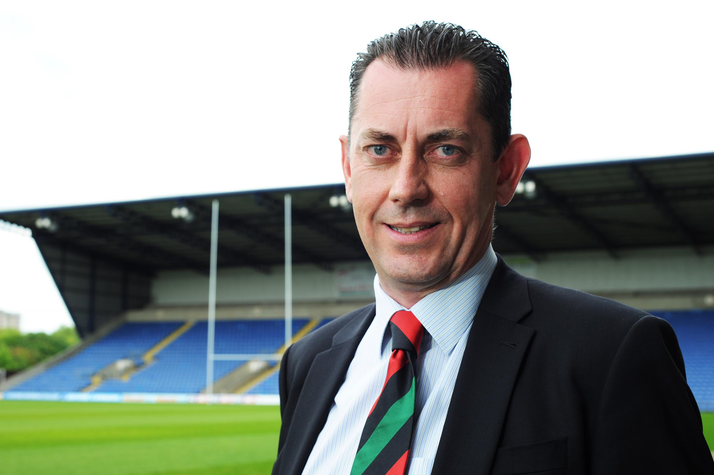 London Welsh chief executive Mike Stevens has left the club