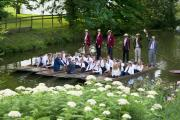 Water music: Madrigals on the river at Magdalen College School Festival