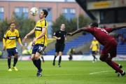 Oxford United's home game against Stevenage last season, which ended goalless