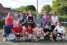 The finalists from Cholsey's club championships. Back row (from left): Heather Harrison, Tina Stirling, Millie May, Emma Frost, Lily May, Sue Butcher, Ann Stanley. Front: Pat Clayphan, Richard May, James Gibson, Oscar Gibson, Sam Herriot, Pat Warburton