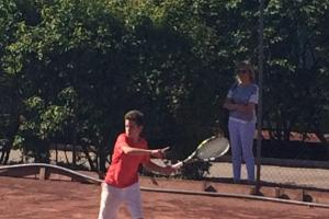 TENNIS: Connor makes big impression in Norway