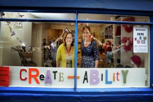 Arts and crafts pop up to revitalise vacant shop