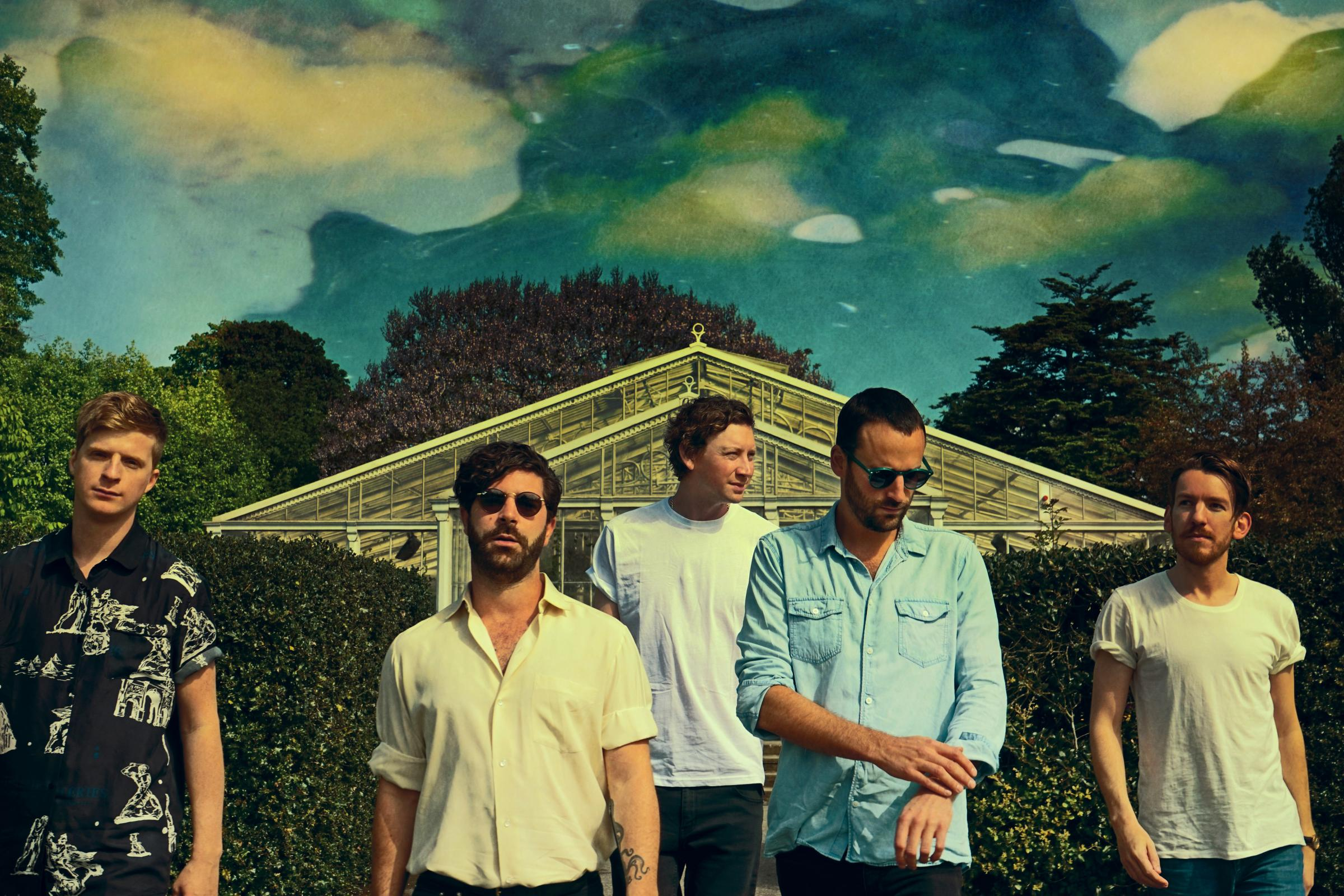 Galactic ambitions? Oxford indie-rockers Foals