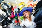 Louise Walton whose millinery business in Wallingford is one of two local firms in the Small Biz 100 list