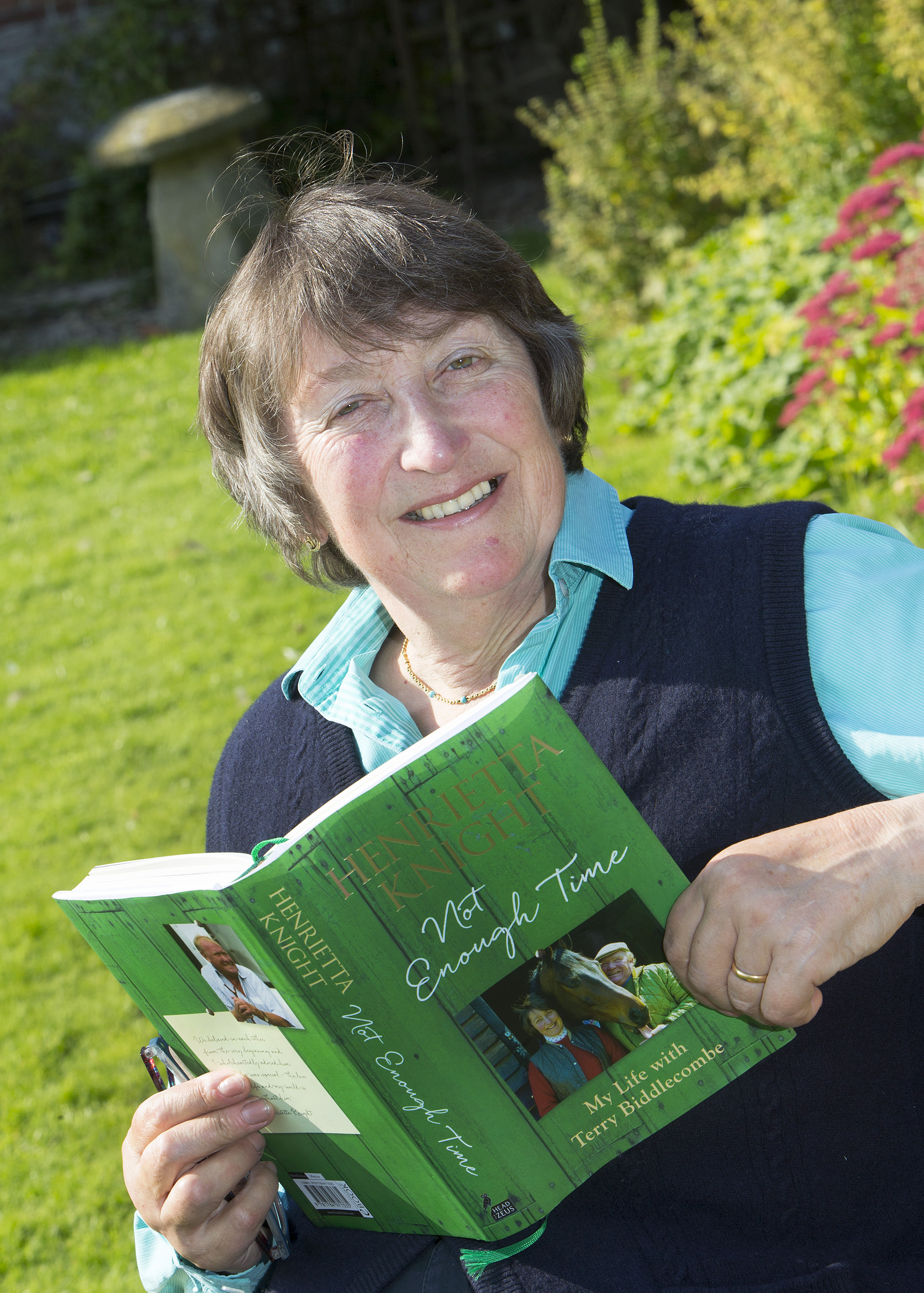 Henrietta Knight spent 10 months writing her new book on the years she spent with Terry Biddlecombe