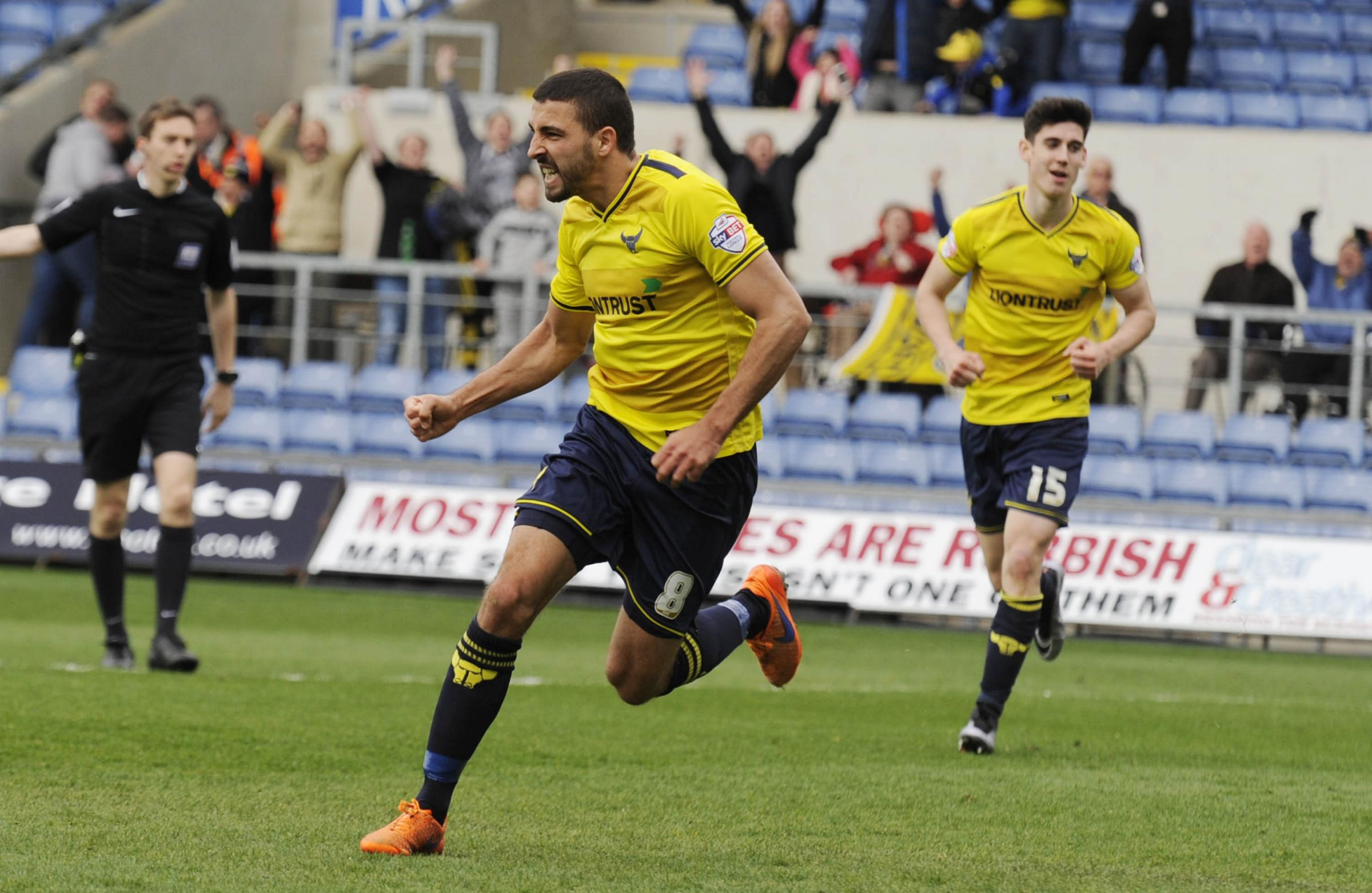 Liam Sercombe, along with Kemar Roofe, completed a deal to join Oxford United in the second week of the close season 12 months ago. Boss Michael Appleton is keen to make similarly quick signing this year